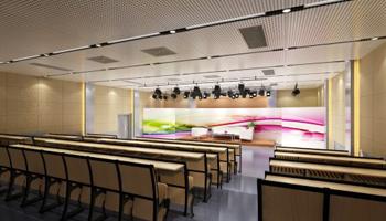 职业技术学院演播厅声学装修及灯光音响工程